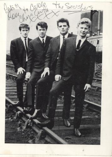 Brian Poole Autographed Publicity Photograph photograph UK BPOPHAU694372
