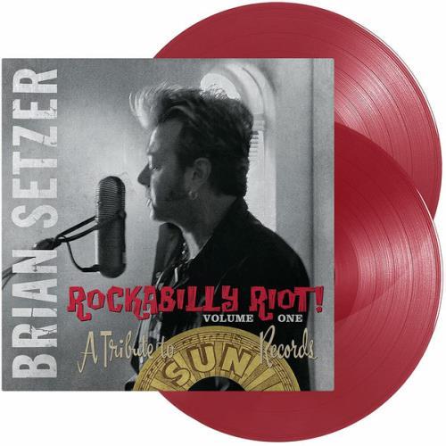 Brian Setzer Rockabilly Riot! Volume One - Red Vinyl - Sealed 2-LP vinyl record set (Double Album) US SET2LRO769765