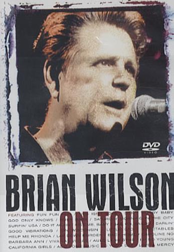 Brian Wilson Brian Wilson On Tour DVD Japanese BWIDDBR327839