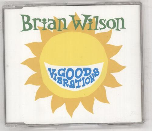 "Brian Wilson Good Vibrations CD single (CD5 / 5"") UK BWIC5GO309762"