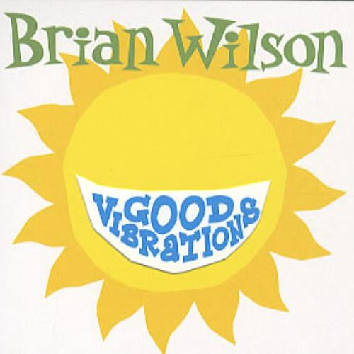 "Brian Wilson Good Vibrations CD single (CD5 / 5"") UK BWIC5GO313647"