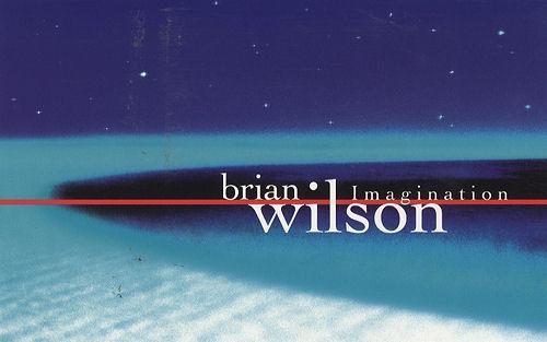 Brian Wilson Imagination Booklet book US BWIBKIM119445