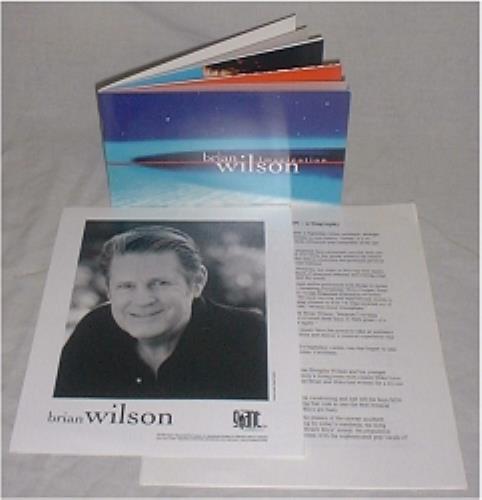 Brian Wilson Imagination media press pack US BWIPPIM191919