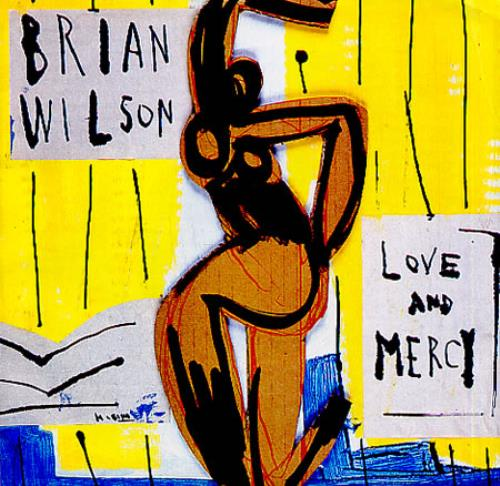 "Brian Wilson Love & Mercy 7"" vinyl single (7 inch record) US BWI07LO58267"