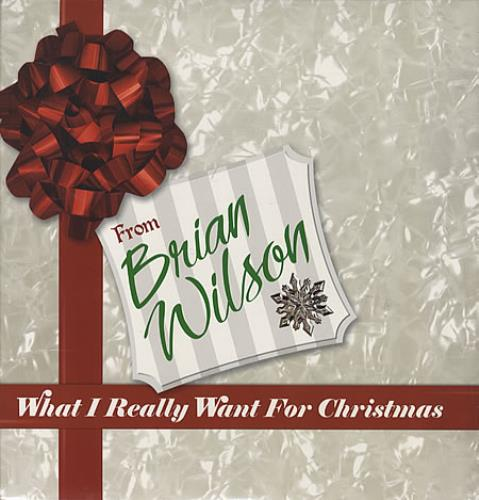 Brian Wilson What I Really Want For Christmas - Sealed vinyl LP album (LP record) US BWILPWH339511