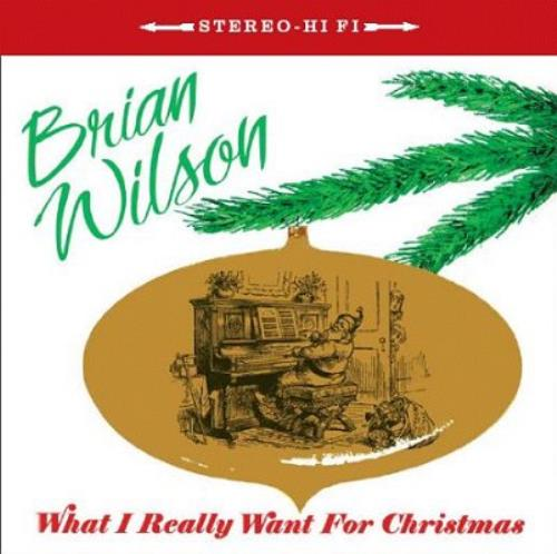"""Brian Wilson What I Really Want For Christmas CD single (CD5 / 5"""") UK BWIC5WH342959"""