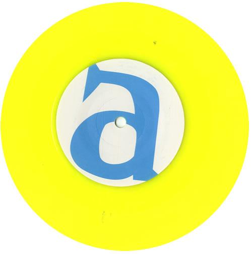 "Brian Wilson Wonderful - Yellow Vinyl 7"" vinyl single (7 inch record) UK BWI07WO581022"