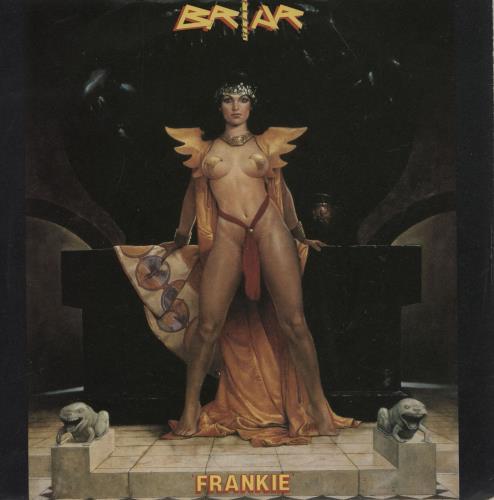 "Briar Frankie 7"" vinyl single (7 inch record) UK BR807FR760406"