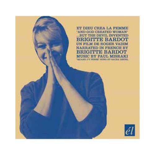 Brigitte Bardot And God Created Woman CD album (CDLP) UK BGICDAN386892