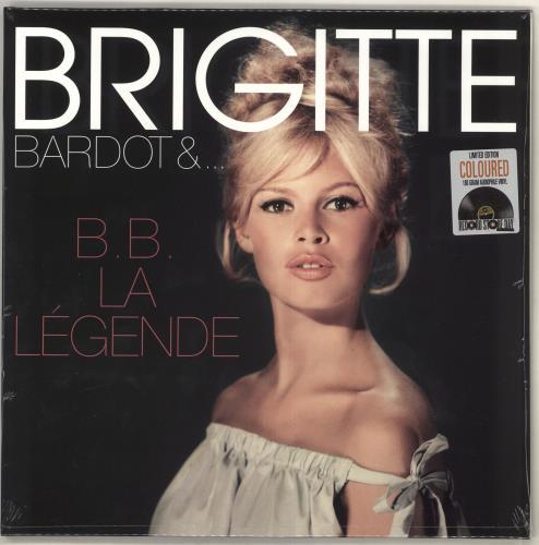 Brigitte Bardot B.B. La Légende - RSD19 - Pink Vinyl - Sealed vinyl LP album (LP record) UK BGILPBB726071
