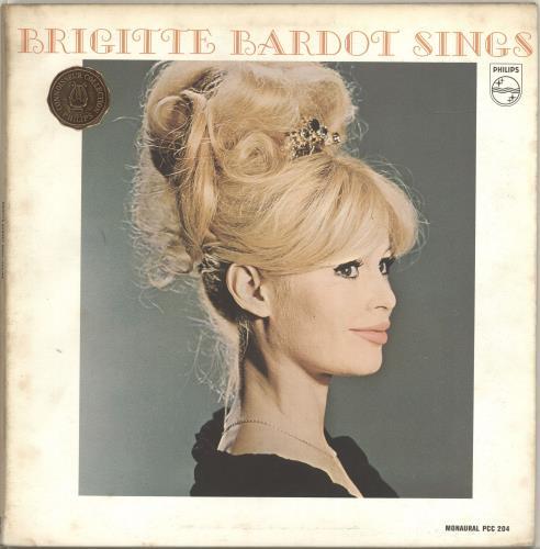 Brigitte Bardot Brigitte Bardot Sings vinyl LP album (LP record) US BGILPBR696644
