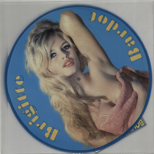 Brigitte Bardot The Early Years picture disc LP (vinyl picture disc album) French BGIPDTH169147