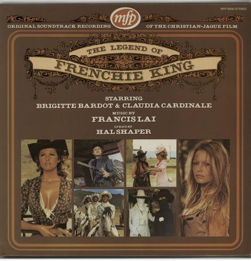 Brigitte Bardot The Legend Of Frenchie King vinyl LP album (LP record) UK BGILPTH115650