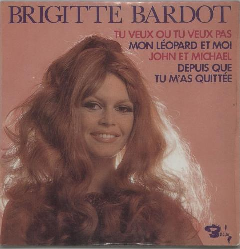 "Brigitte Bardot Tu Veux Ou Tu Veux Pas CD single (CD5 / 5"") French BGIC5TU169146"