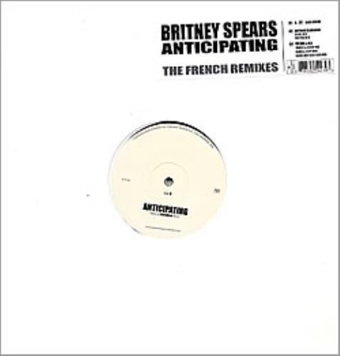 "Britney Spears Anticipating - The French Remixes - Sealed 12"" vinyl single (12 inch record / Maxi-single) French BTP12AN225360"
