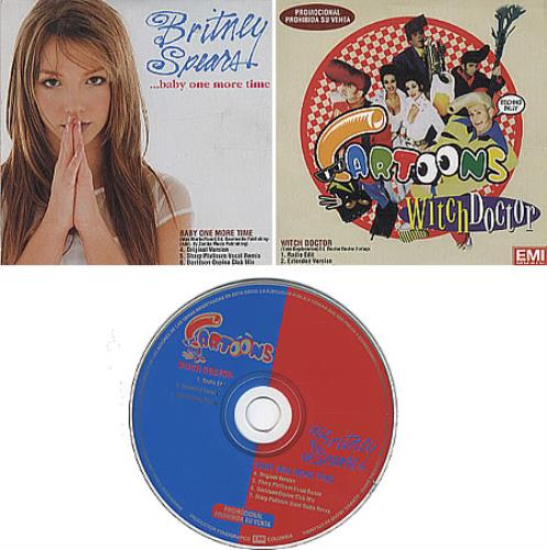 """Britney Spears Baby One More Time CD single (CD5 / 5"""") Colombian BTPC5BA322197"""