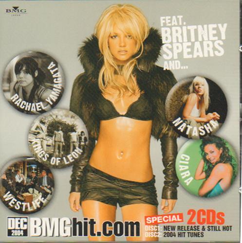 Britney Spears BMG Hit.com 2 CD album set (Double CD) Japanese BTP2CBM664635