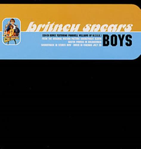 "Britney Spears Boys 12"" vinyl single (12 inch record / Maxi-single) UK BTP12BO219511"