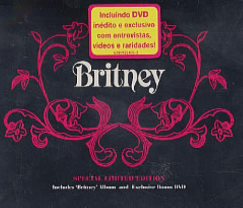 Britney Spears Britney 2-disc CD/DVD set Brazilian BTP2DBR232025