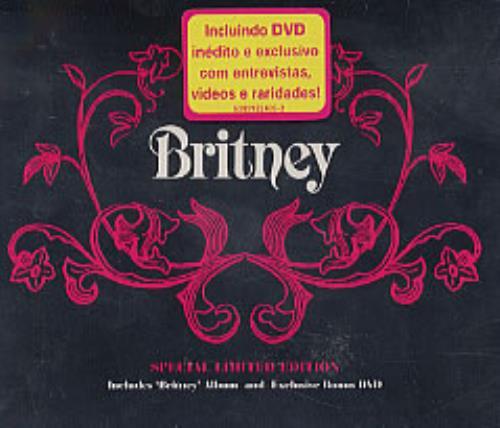 Britney Spears Britney 2-disc CD/DVD set Brazilian BTP2DBR232025