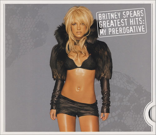 Britney Spears Greatest Hits: My Prerogative CD album (CDLP) UK BTPCDGR435983