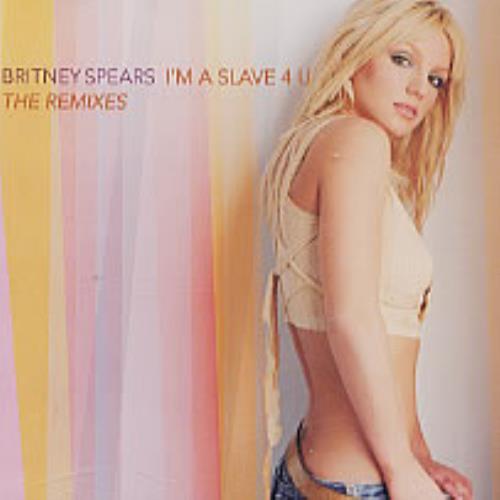 "Britney Spears I'm A Slave 4 U - The Remixes CD single (CD5 / 5"") US BTPC5IM203776"