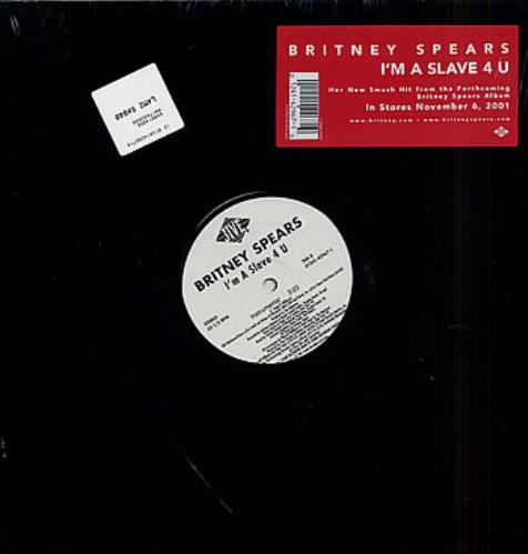 Britney Spears I M A Slave 4 U Us 12 Vinyl Single 12 Inch Record Maxi Single 203263