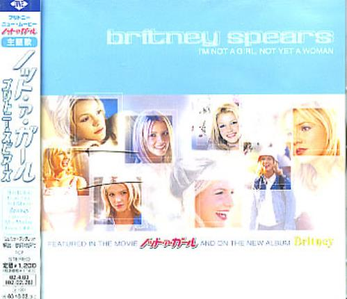 """Britney Spears I'm Not A Girl Not Yet A Woman CD single (CD5 / 5"""") Japanese BTPC5IM214924"""