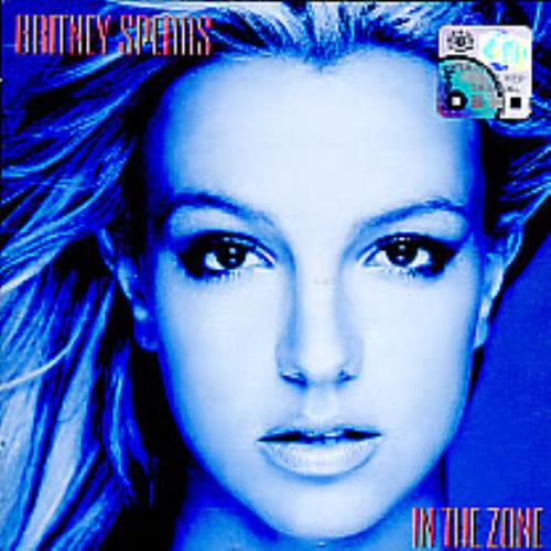 Britney Spears In The Zone + Frame CD album (CDLP) Malaysia BTPCDIN267486