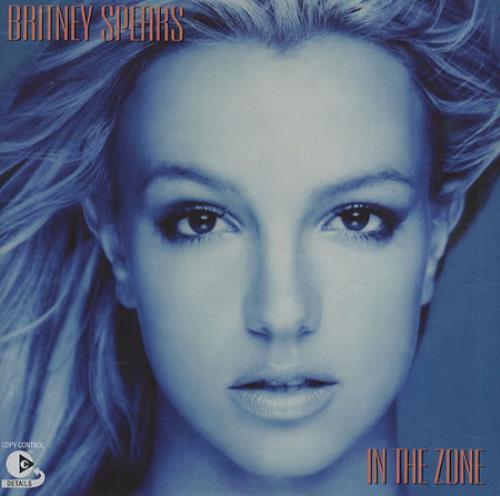 Britney Spears In The Zone CD album (CDLP) European BTPCDIN267335