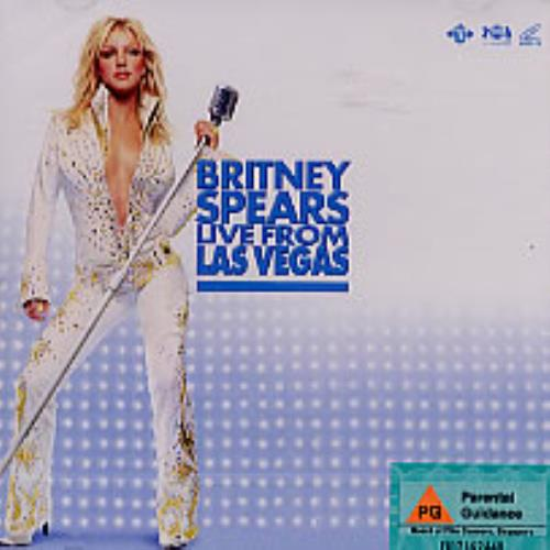 Britney Spears Live From Las Vegas Singapore Video Cd 217729