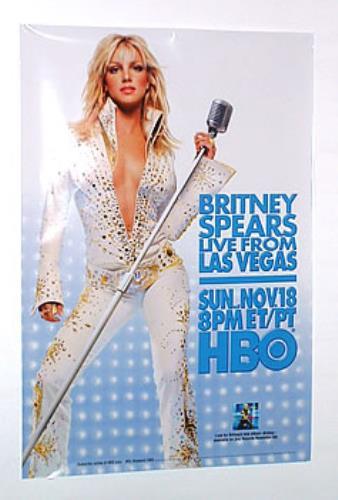 Britney Spears Live In Las Vegas Us Promo Poster 210035
