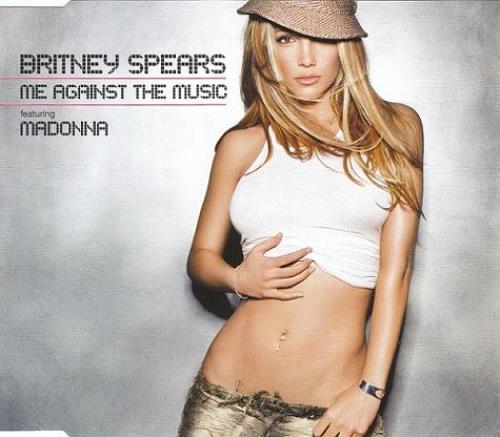 """Britney Spears Me Against The Music CD single (CD5 / 5"""") UK BTPC5ME262214"""