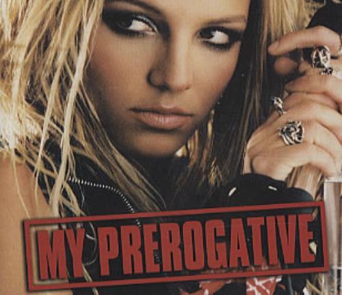 "Britney Spears My Prerogative CD single (CD5 / 5"") UK BTPC5MY305045"