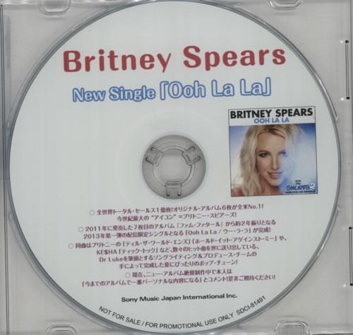 Britney Spears Ooh La La CD-R acetate Japanese BTPCROO596306