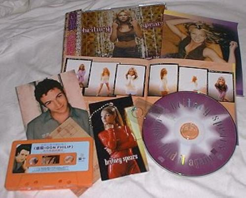 Britney Spears Oops I Did It Again Card Clip On Jewellery Taiwanese Cd Album Cdlp 158671