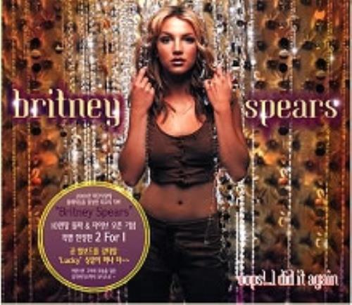 Britney Spears Oops I Did It Again Korean 2 Cd Album Set Double Cd 162767