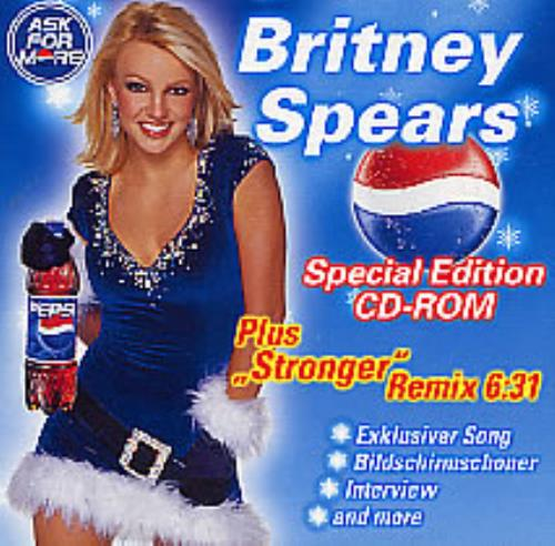 Britney Spears Stronger - Miguel Migs Remix CD-ROM German BTPROST258772