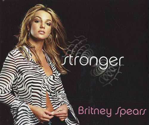 """Britney Spears Stronger CD single (CD5 / 5"""") UK BTPC5ST172283"""