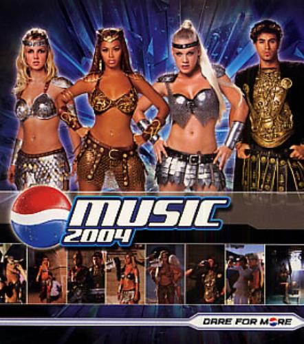 Britney Spears We Will Rock You - Pepsi Gladiators Remix CD album (CDLP) US BTPCDWE315765