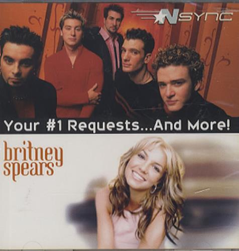 Britney Spears Your #1 Requests...And More! CD album (CDLP) US BTPCDYO163608