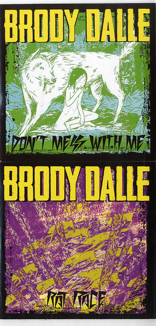 Brody Dalle Diploid Love + Singles CD-R acetate UK F2QCRDI633488
