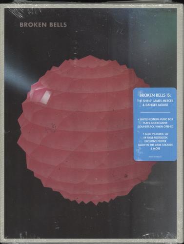 Broken Bells Broken Bells - Sealed CD Album Box Set UK B3EDXBR745052