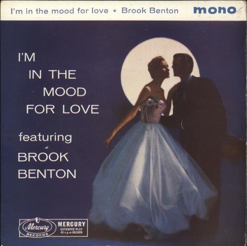 "Brook Benton I'm In The Mood For Love 7"" vinyl single (7 inch record) UK BR007IM719418"