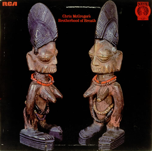 Brotherhood Of Breath Chris McGregor's Brotherhood Of Breath vinyl LP album (LP record) UK BRZLPCH451594