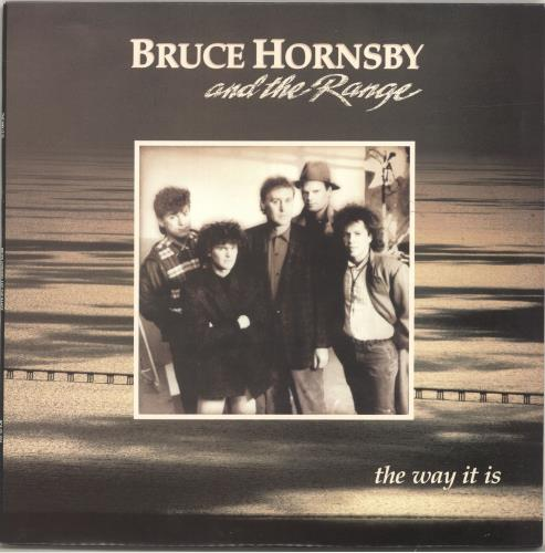Bruce Hornsby The Way It Is vinyl LP album (LP record) South African BRHLPTH695626