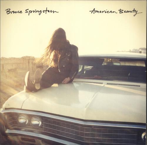 "Bruce Springsteen American Beauty 12"" vinyl single (12 inch record / Maxi-single) UK SPR12AM679956"