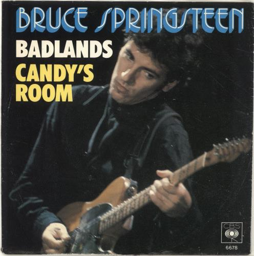 "Bruce Springsteen Badlands 7"" vinyl single (7 inch record) Dutch SPR07BA685102"