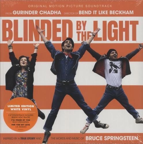 Bruce Springsteen Blinded By The Light - White Vinyl - Sealed 2-LP vinyl record set (Double Album) UK SPR2LBL736151