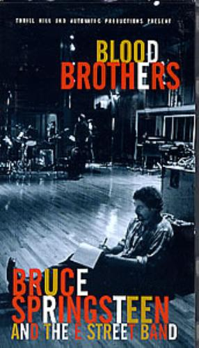 Bruce Springsteen Blood Brothers video (VHS or PAL or NTSC) UK SPRVIBL290372